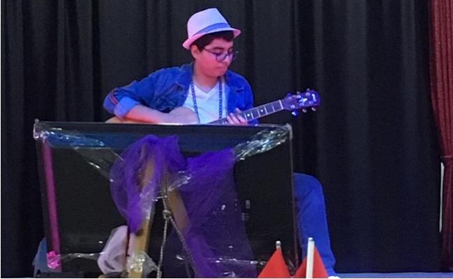 Anamur Anadolu Lisesi'nin Müzisyen Acar'ı Dünya'nın Finalisti Oldu