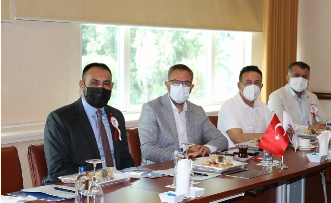 Başkan Yılmaz, Çukurova Belediyeler Birliğinde Yeniden Encümen Üyesi