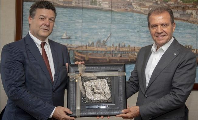 BM Mülteciler Yüksek Komiserliği Türkiye Temsilcisinden Seçer'e Ziyaret