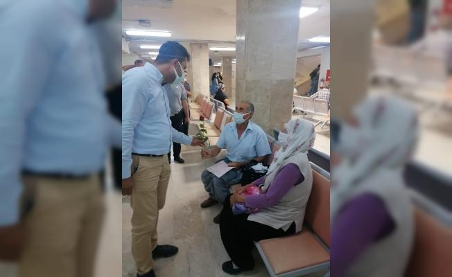 Hastane 'de Babalar Günü Sürprizi