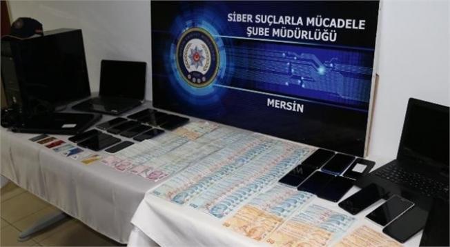 Mersin Merkezli 16 İlde Siber Suçlara Yönelik Operasyon