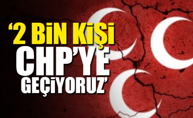 MHP'de Toplu İstifa Depremi...