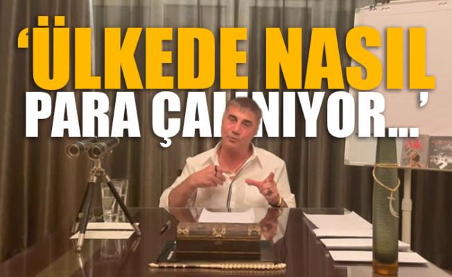Sedat Peker, Bugün Yayınlanan 9.Videosunda Yolsuzluk Çarklarını İfşa Etti.