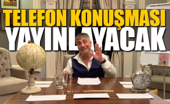 Sedat Peker'den Cumartesi Ekstra Video Paylaşacağını Açıkladı.