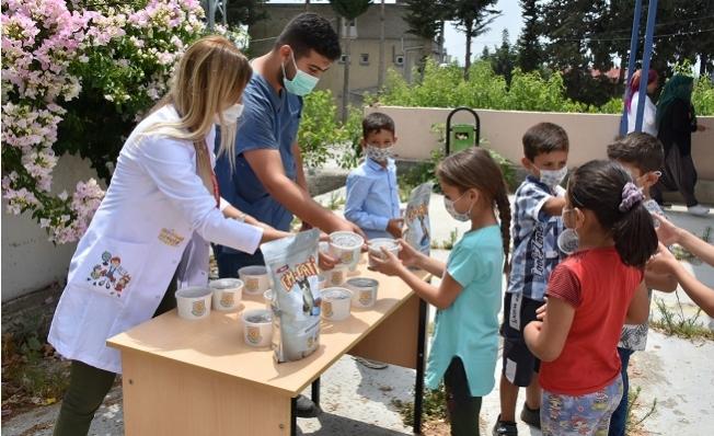 Tarsus'ta Kreş Hizmeti Köylerde Devam Ediyor