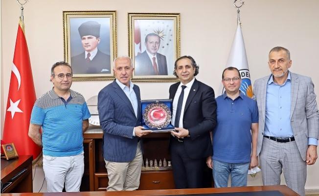 Turap Yeni Yönetiminden Başkan Turap'a Ziyaret