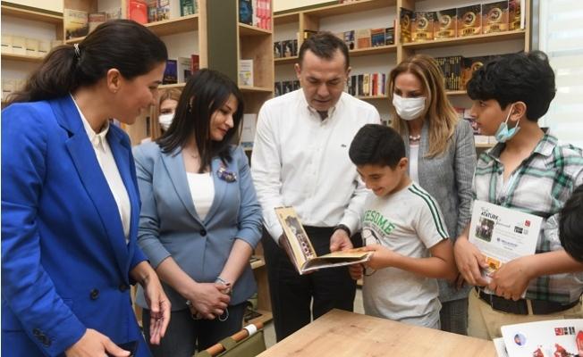 Ülkü Ongun Kütüphanesi Açıldı