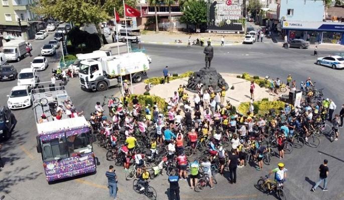 2.Tarsus Bisiklet Festivali Başladı.