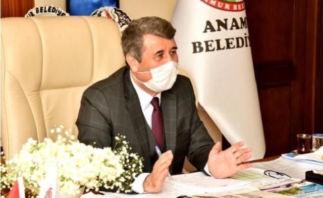 Anamur Belediye Başkanı Hidayet Kılınç Covid-19'a Yakalandı.