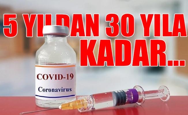 Aşı Yaptırmayana Hapis Cezası Yolda