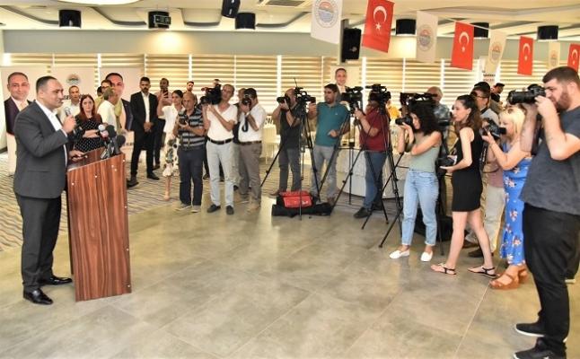 Başkan Yılmaz,  24 Temmuz Basın Bayramı'nı Kutladı.