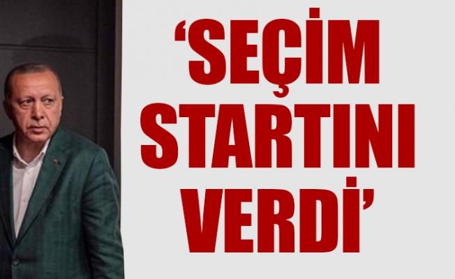 Erdoğan Seçim Startını Verdi.