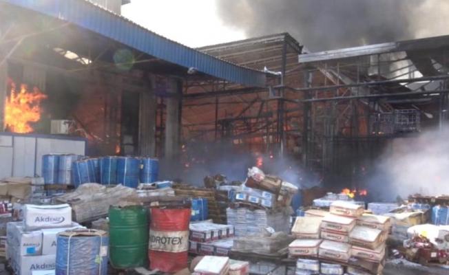 Mersin'in Başarılı İş Adamı Serhat Servet Dövenci'nin Fabrikasındaki Yangın Ucuz Atlatıldı.