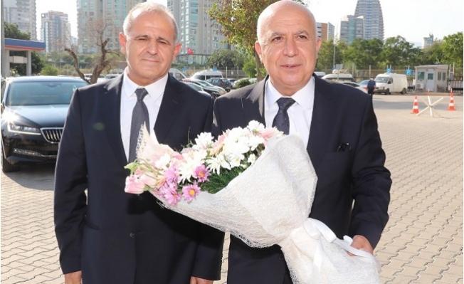 Mersin'in Yeni Emniyet Müdürü Mehmet Aslan Göreve Başladı