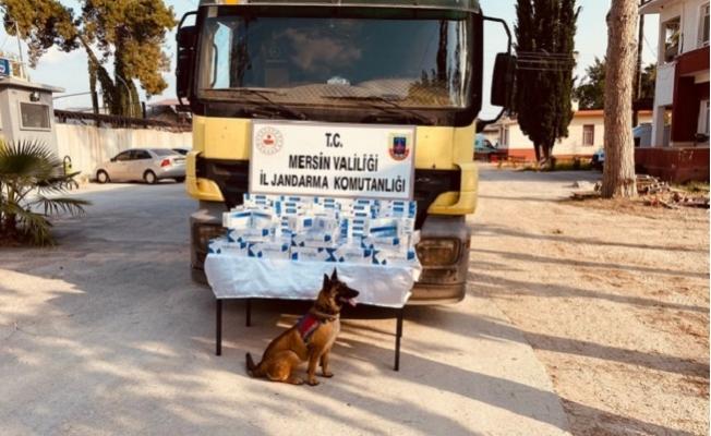 Tarsus'ta Kaçak Sigara Operasyonu