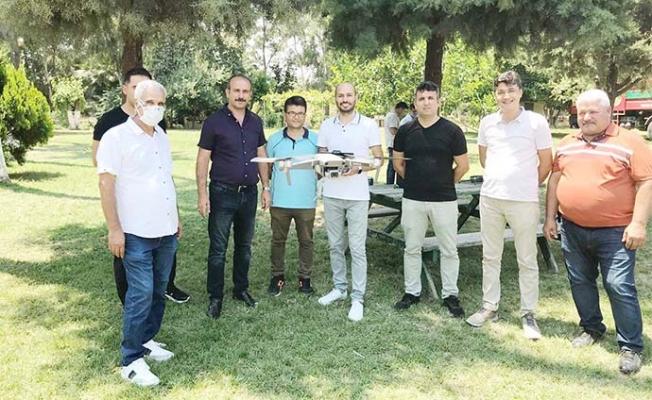 Tarsus'ta Orman Müdürlüğü Personellerine Drone Eğitimi