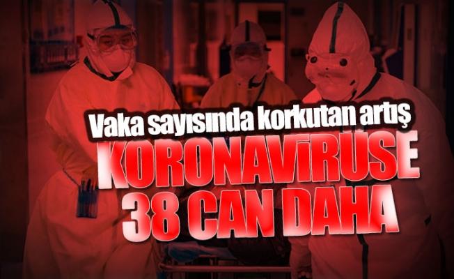 Türkiye'nin Koronavirüs Vaka Tablosunda Korkutan Artış