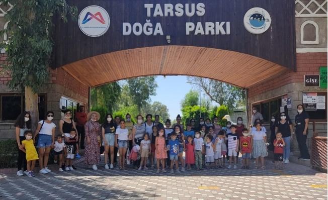 Akdenizli Çocuklara  Doğa ve Hayvan Sevgisi Aşılanıyor