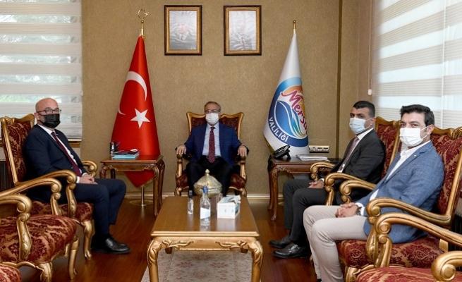 Baro Başkanı Özdemir'den  Vali Suya Ziyaret
