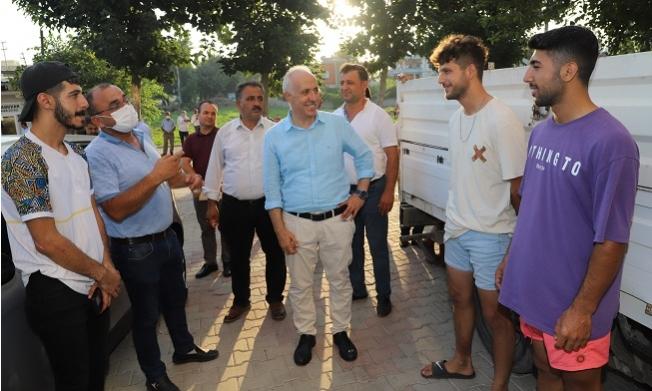 Başkan Gültak'dan Karaduvar Mahallesine Ziyaret