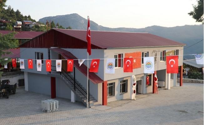 Başkan Yılmaz Çok Amaçlı Kültür Sanat ve Taziye Evi'nin Açılışını Yaptı.