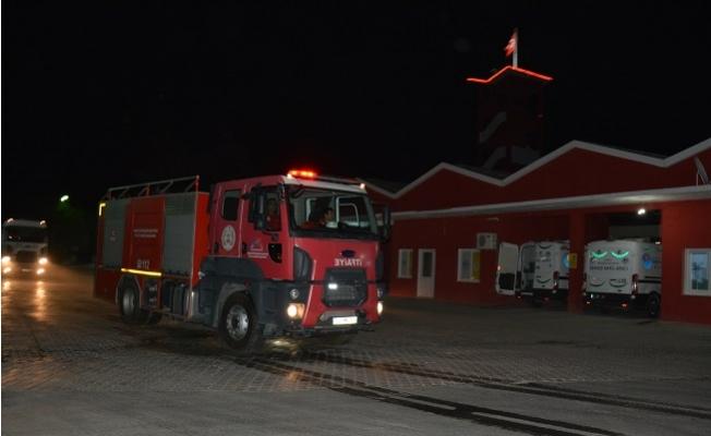 Büyükşehir'den Tunceli'deki Yangınlara Müdahele