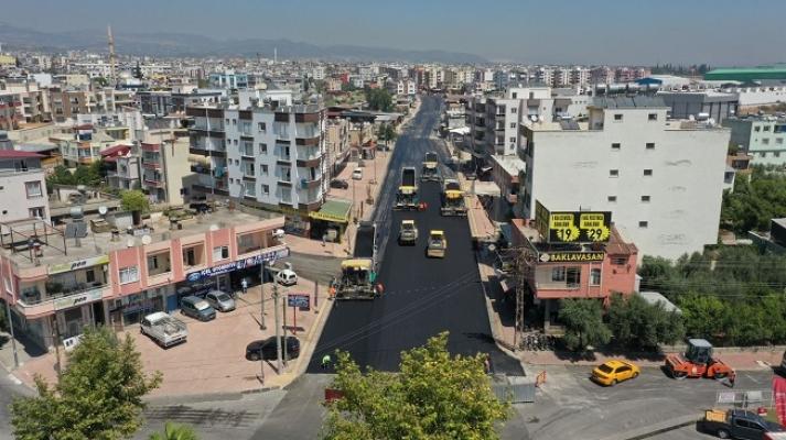 Çifçiler Caddesinde Yol Düzenleme Çalışması Devam Ediyor