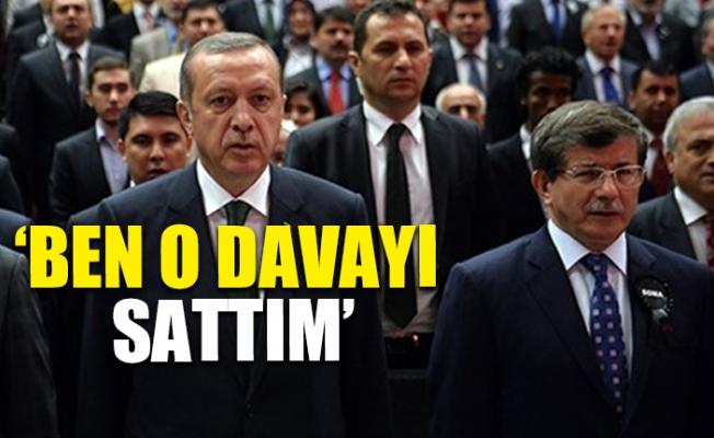 Davutoğlu, Erdoğan'a Böyle Seslendi
