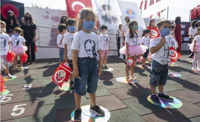 Mersin Büyükşehir'in Kreşlerinde 30 Ağustos Coşkusu