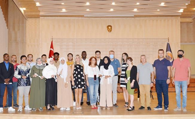 Mersin Üniversitesi TUAM İçin Mezuniyet Töreni Düzenledi.