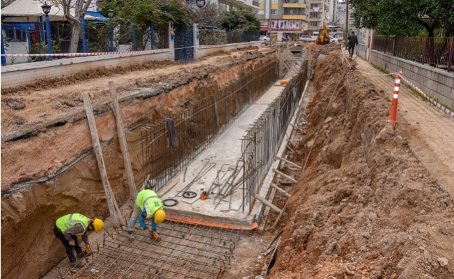MESKİ'den Silifke'ye 4,8 Milyonluk Yağmursuyu Hattı Yatırımı
