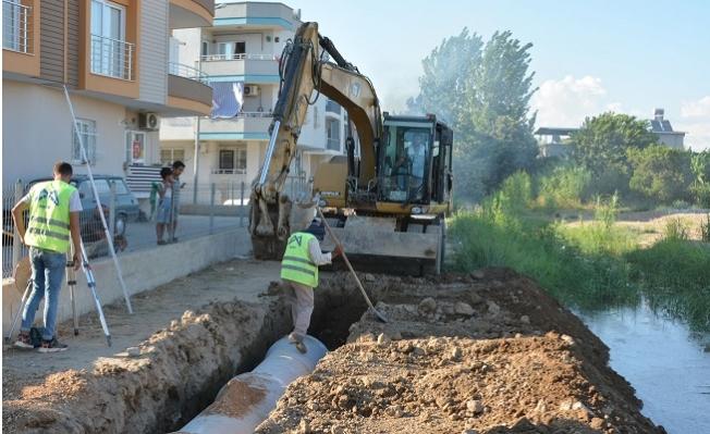 MESKİ Tarsus'ta Çevre Sağlığını Tehdit Eden Kanalı Kapattı.