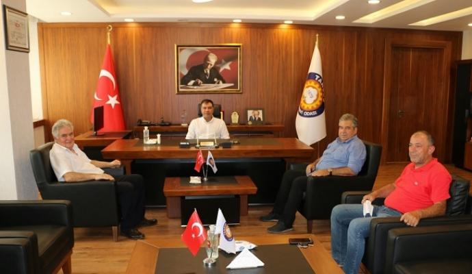 Ofluoğlu ve Karagözlü'den Tarsus TSO'ya Ziyaret