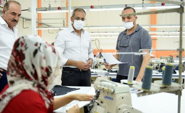 Tarsus Belediyesi Atölyesinde Kadınları İstihdam Edecek
