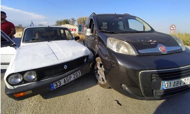 Tarsus ve Çamlıyaylada Meydana Gelen Üç Ayrı Kazada 3 Kişi Yaralandı.