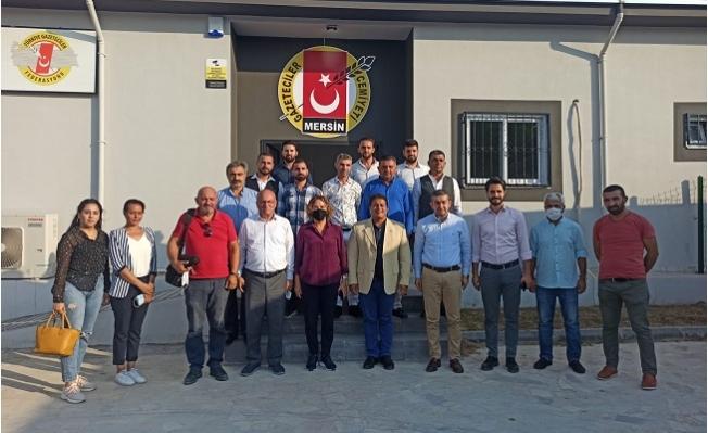 AK Parti'den Mersin Gazeteciler Cemiyetine Ziyaret