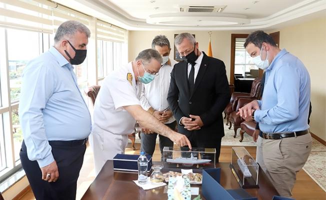 Akdeniz Bölge ve Garnizon Komutanından MTOSB Ziyaret