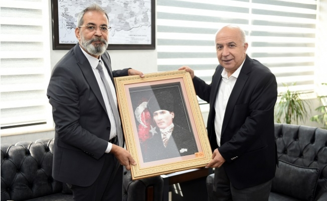 Başkan Bozdoğan'dan Mersin İl Emniyet Müdürü Mehmet Aslan'a Ziyaret