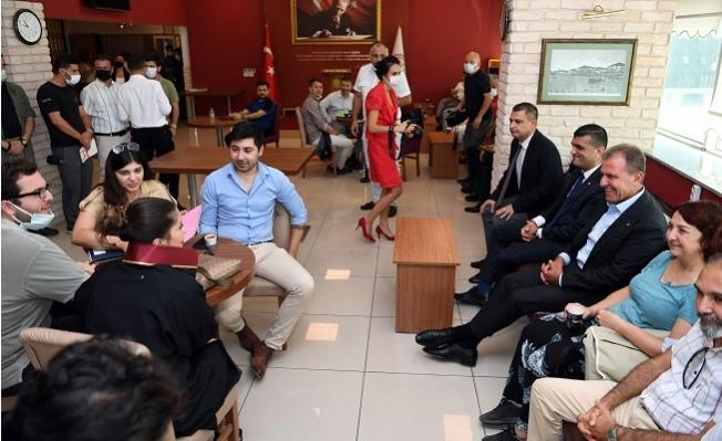 Başkan Seçer'den Mersin Barosuna Ziyaret