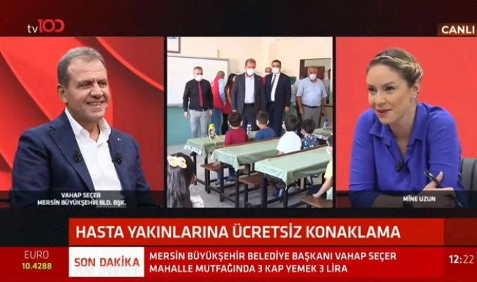 Başkan Seçer TV100 Yanında Metro Projesini Değerlendirdi.