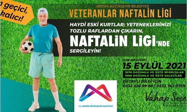 Büyükşehir'den 'Veteranlar Naftalin Ligi'