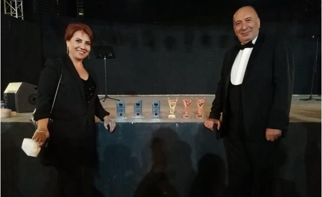 Büyükşehir'in Şehir Tiyatrosu 5 Ödüle Layık Görüldü.