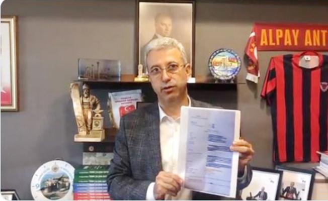 CHP'li Antmen Yargıdaki Skandalın Belgesini Paylaştı.