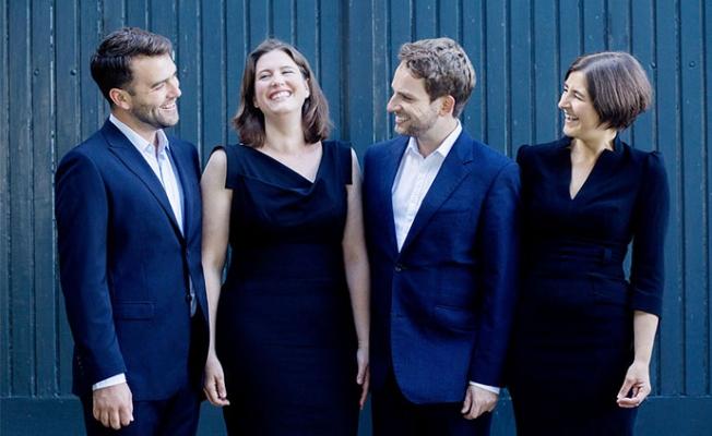 Damask Vocal Quartet'i Tarsuslu Sanatseverlerle Buluşuyor.