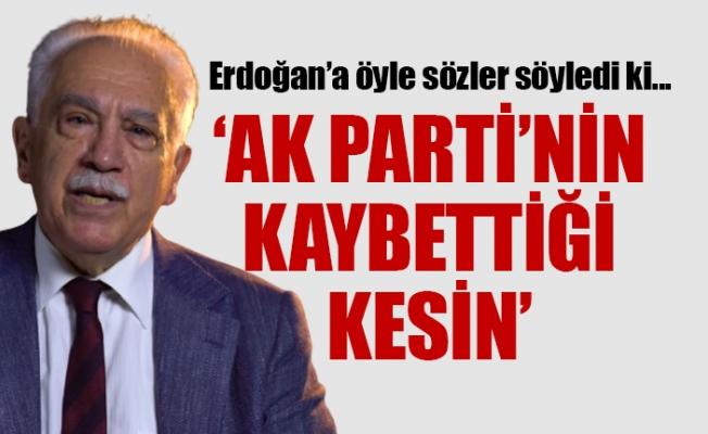 Doğu Perinçek'ten Bomba Erdoğan ve AKP İtirafı