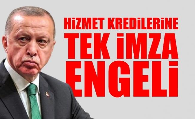 Erdoğan Belediyelerin Hizmet İçin Alacağı Kredilere Onay Vermedi