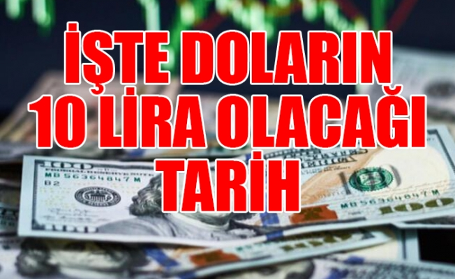 Hükümetin Dolar Kuru Tahmini Ortaya Çıktı