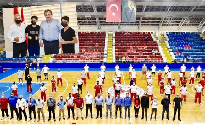"""""""Kick Boks Siyah Kuşak Dan Sınavı"""" Mersin'de Yapıldı."""