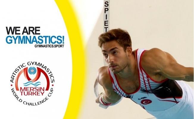 Mersin, Artistik Cimnastik Dünya Kupasına Ev Sahipliği Yapacak.