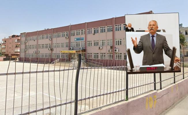 Mersin Bahriye Okulundaki Tehlikeli İnşaat Meclis Gündeminde